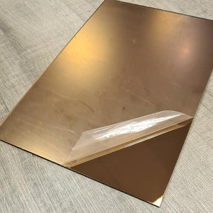 Mirror Bronze 2.5mm 200x290mm