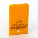 3mm Standard Yellow 2T10, 1000x600mm