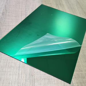 Mirror Green 2mm 200x290mm