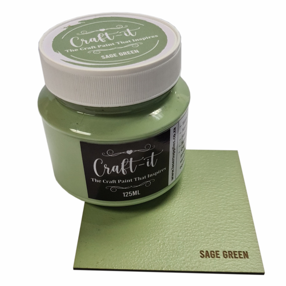 Craft-It Paint 125ml - Sage Green