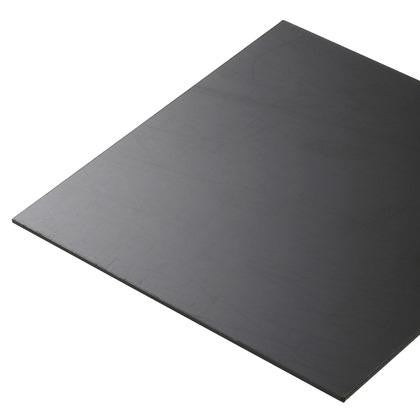 Smooth ABS Black 2mm 1250x600mm