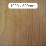 NEW 6mm MDF with Cherry veneer 1000x600mm
