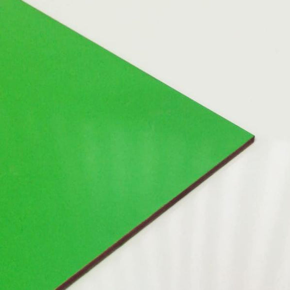 3mm Melamine on MDF - Leafy Green 610 x 430mm