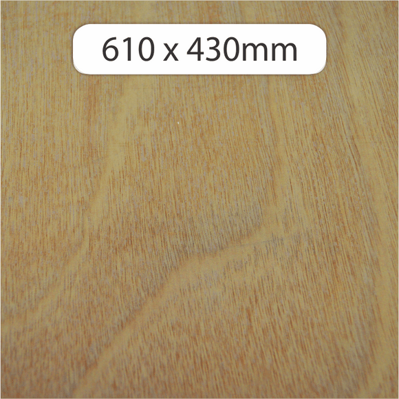 3mm Okoume Plywood 610x430mm