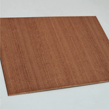 NEW 6mm MDF with Sapele veneer 1000x600mm