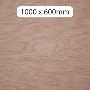 6mm MDF with Angli veneer 1000x600mm