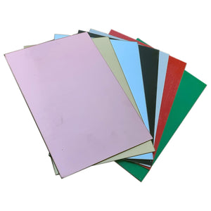 8-Piece A4 Engraving panel Sample pack, 195x295mm