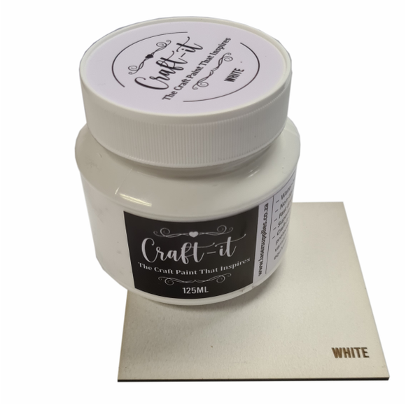 Craft-It Paint 125ml - White