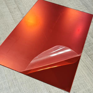 Mirror Red 2mm 200x290mm