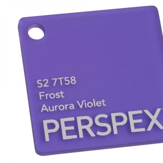 Perspex acrylic online sales, buy cut size 1000 x 600mm. FROST Violet 3mm