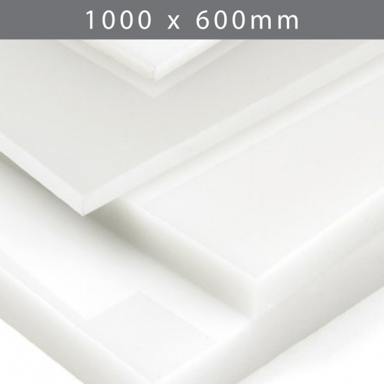 Perspex acrylic online sales, buy cut size 1000 x 600mm. LED Opal