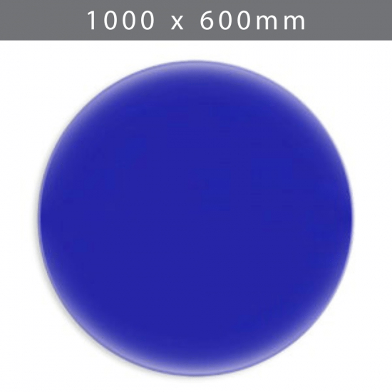 Perspex acrylic online sales, buy cut size 1000 x 600mm. Blue 5mm