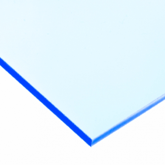 Perspex acrylic online sales, buy cut size 1000 x 600mm. Celestial Blue