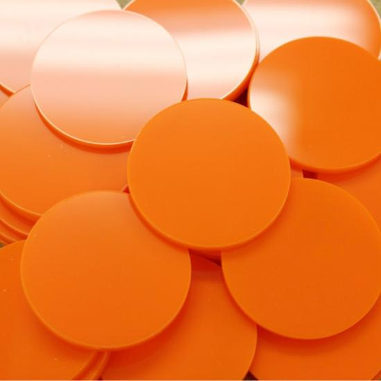 Perspex acrylic online sales, buy cut size 1000 x 600mm. Orange 3mm