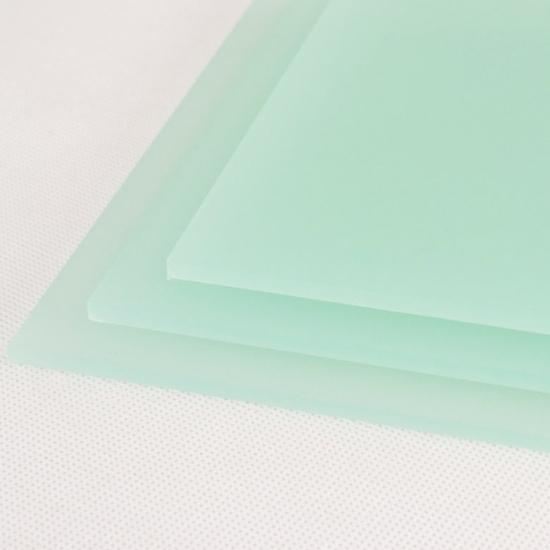 Perspex acrylic online sales, buy cut size 1000 x 600mm. FROST Green 3mm