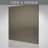 Perspex acrylic online sales, buy cut size 1000 x 600mm. TINT Bronze 3mm