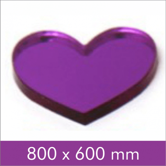 Purple Mirror Acrylic 3mm shop online South Africa