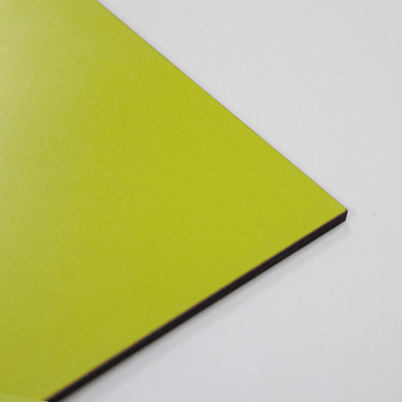 3mm Melamine on MDF - Green 610 x 430mm