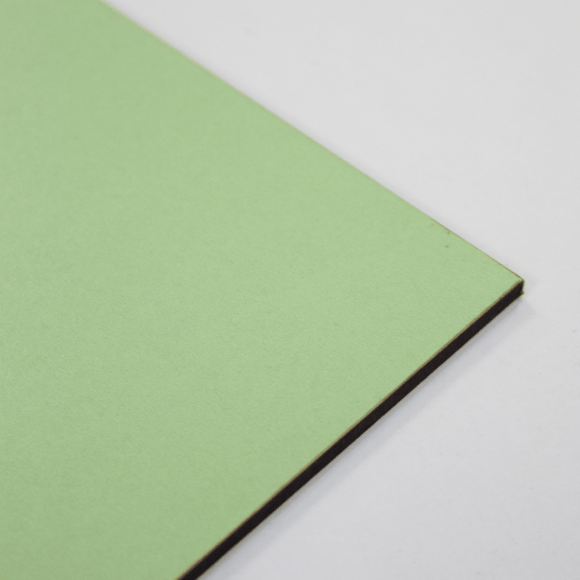 3mm Melamine on MDF - Mint 610 x 430mm