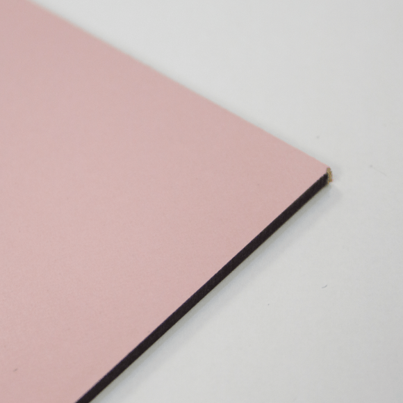 3mm Melamine on MDF - Pink 1000 x 600mm