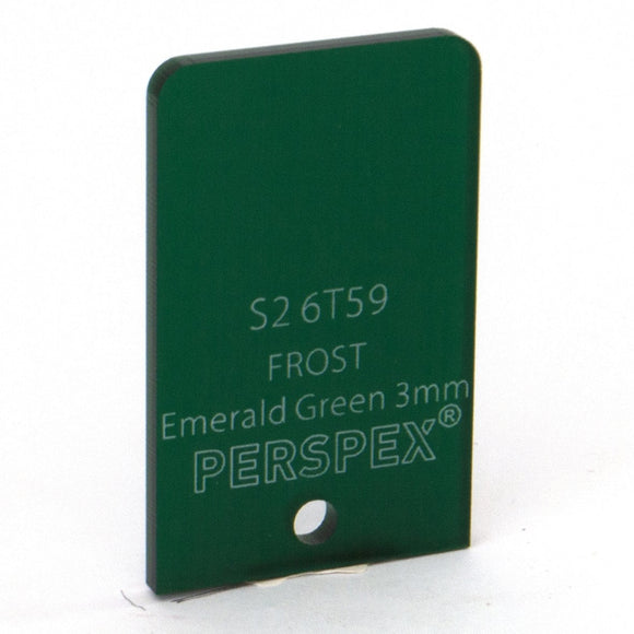 3mm Frost Emerald Green S26T59, 1000x600mm