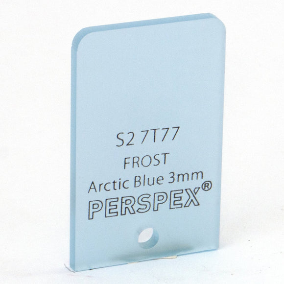 3mm Frost Arctic Blue S27T77, 1000x600mm