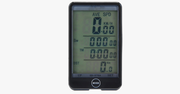 Waterproof LED Bicycle Speedometer