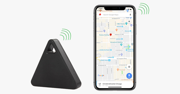 Smart Wireless Bluetooth 4-0 Tracker and GPS Locator