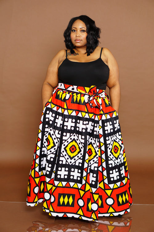 Tribal Chic Skirt - 5 Sisters Luxe