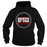 Death By Par Inside The Circle Heavy Blend Disc Golf Hoodie