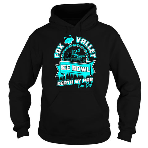 FVMDGC Ice Bowl 2017 Heavy Blend Disc Golf Hoodie