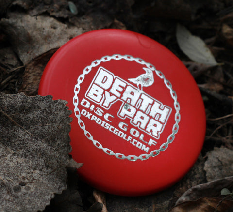 Death By Par Disc Golf Mini Marker Classic Blend Judge