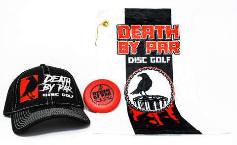 Death By Par Disc Golf Hat Bundle