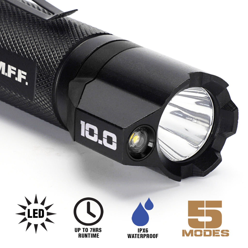 Features of a tactical flashlight