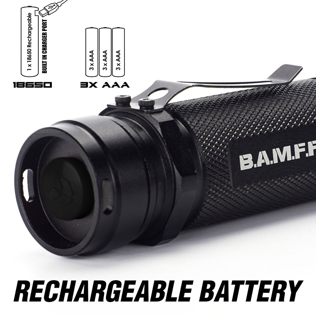 BAMFF 10.0 with a rechargeable battery