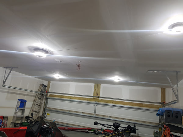 Garage lighting system no electrical wiring required MPI Motion LED Light