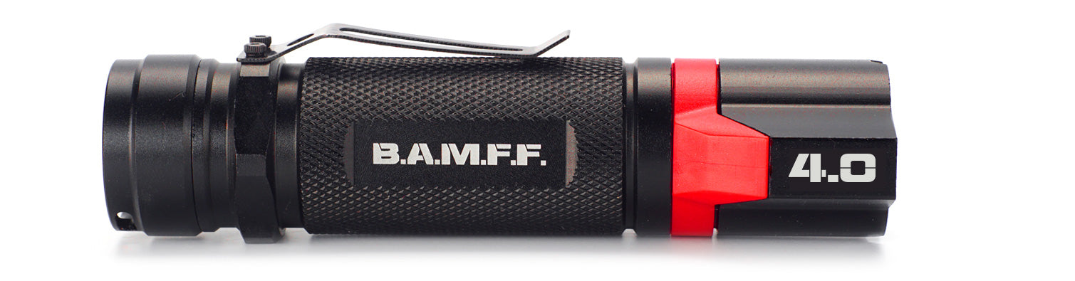 The STKR Concepts B.A.M.F.F. 4.0 - Dual LED tactical flashlight - 400 lumens