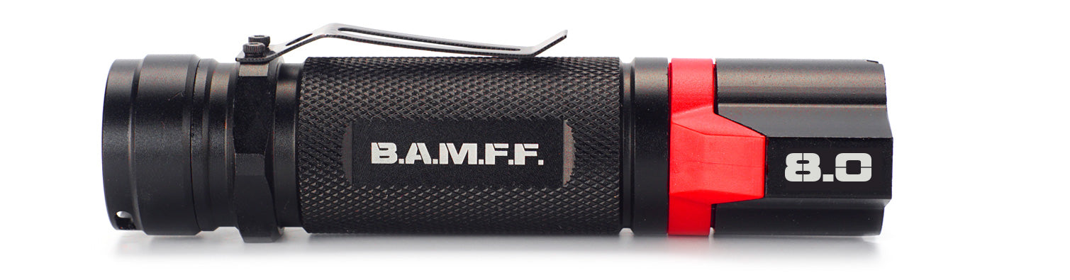 The STKR Concepts B.A.M.F.F. 8.0 - Dual LED tactical flashlight - 800 lumens