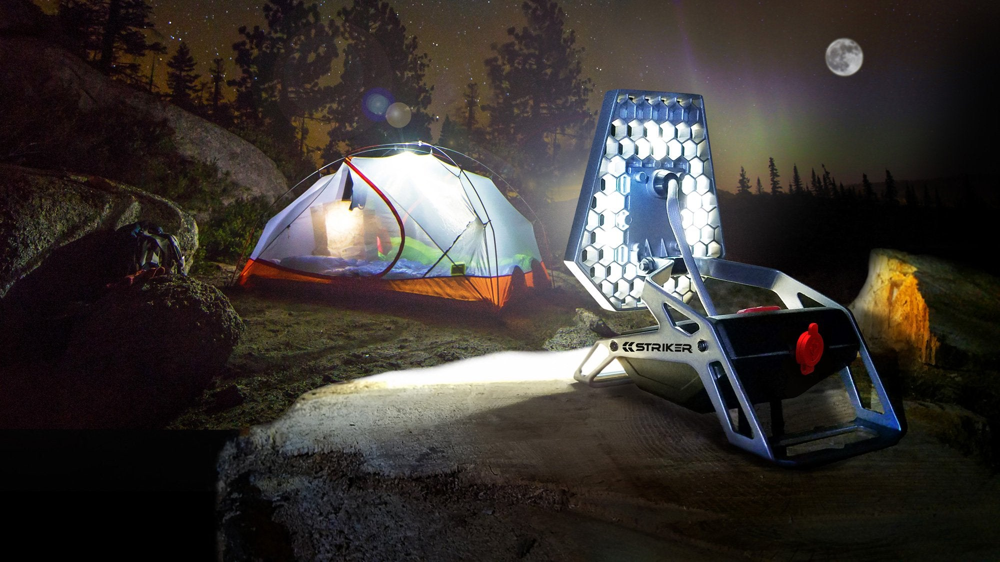 Striker Mobile Task Light for Camping