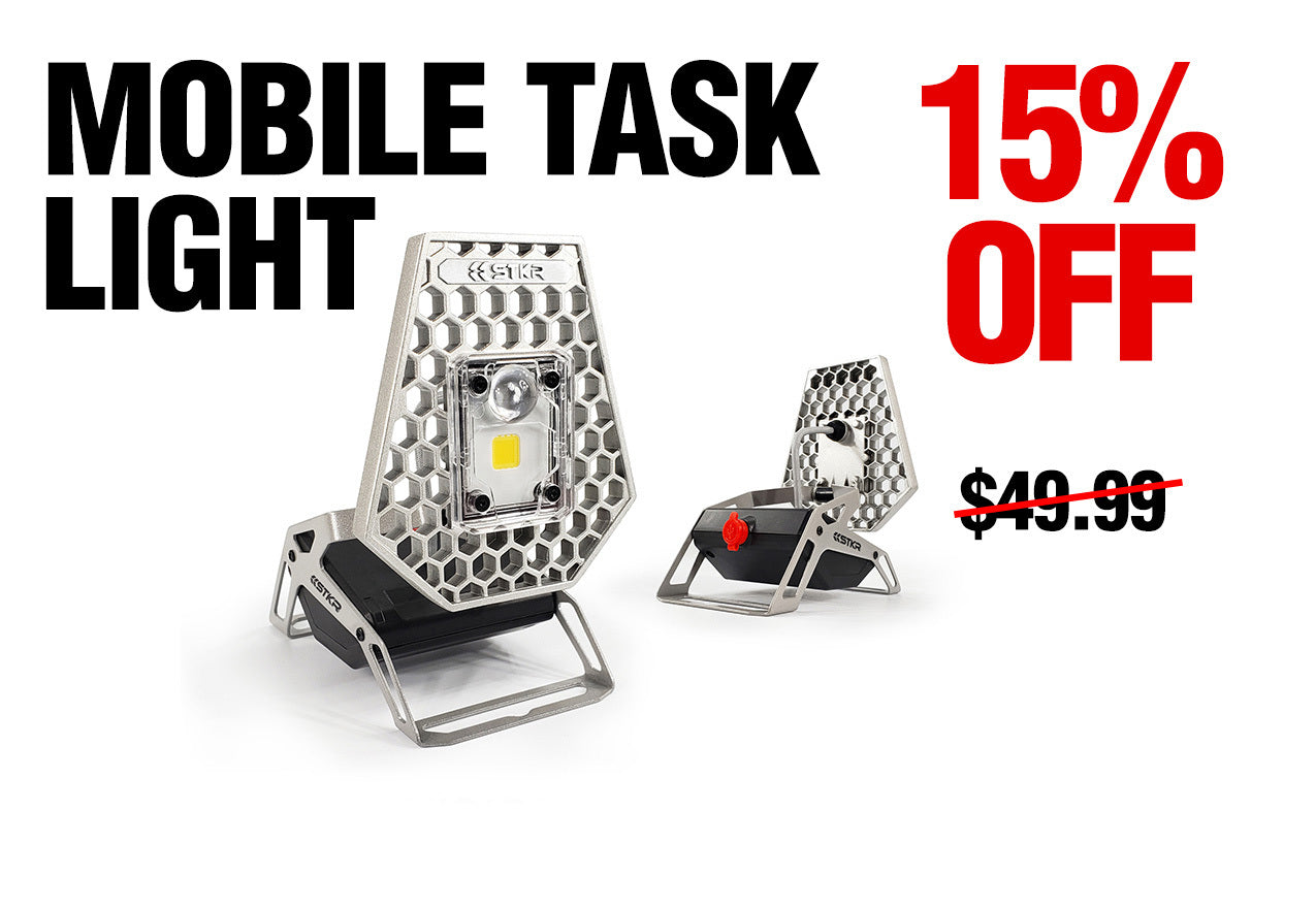 Deal of the Month - 15% Off Mobile Task Light