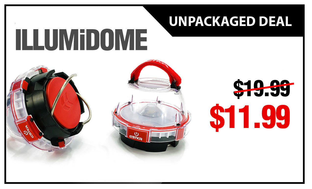 Deal of the Month - ILLUMiDOME Mini Waterproof Lantern Unpackaged Deal