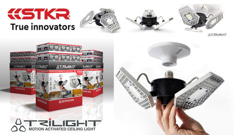 The original Trilight by STKR Concepts - don't support the copy products