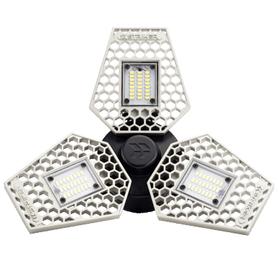 STKR Concepts | TRiLIGHT - Motion Activated Ceiling Light | Striker