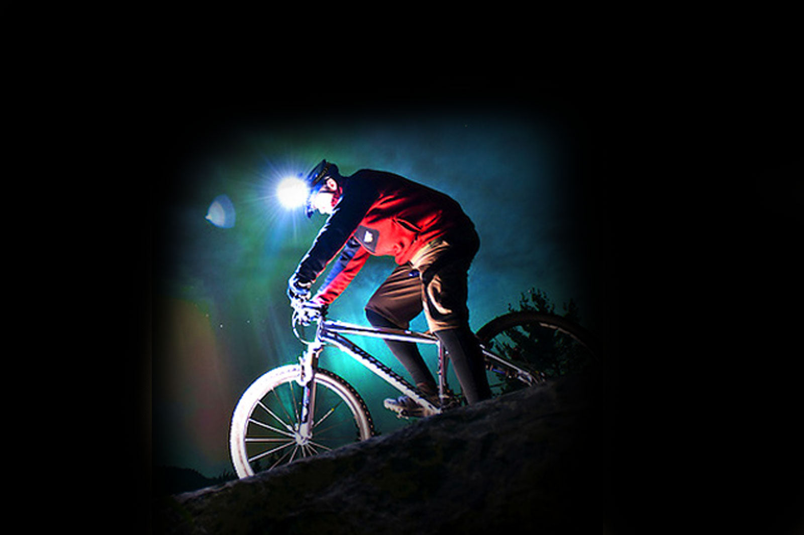 FLEXIT Headlamp 2.5 mountain biking cycling