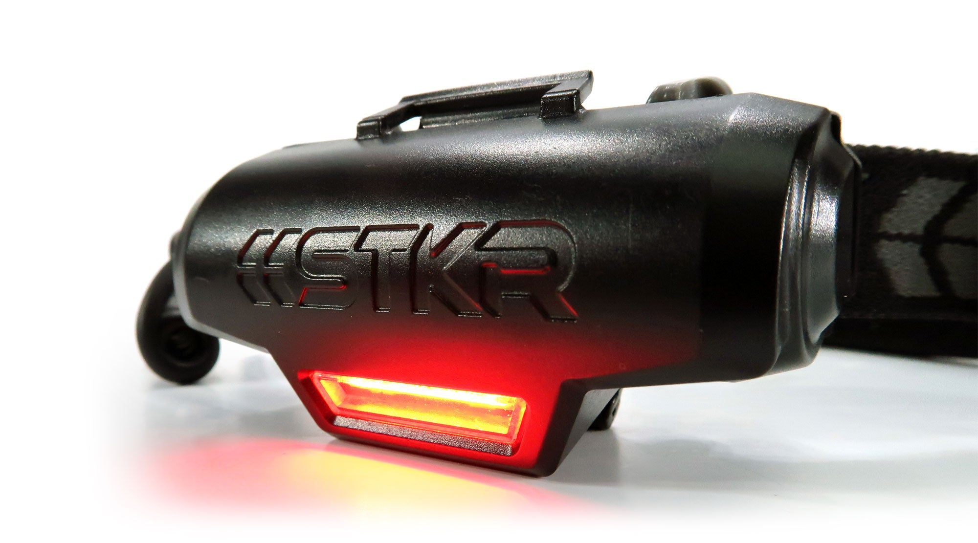 The FLEXIT Headlamp PRO rear hazard lighting by STKR Concepts