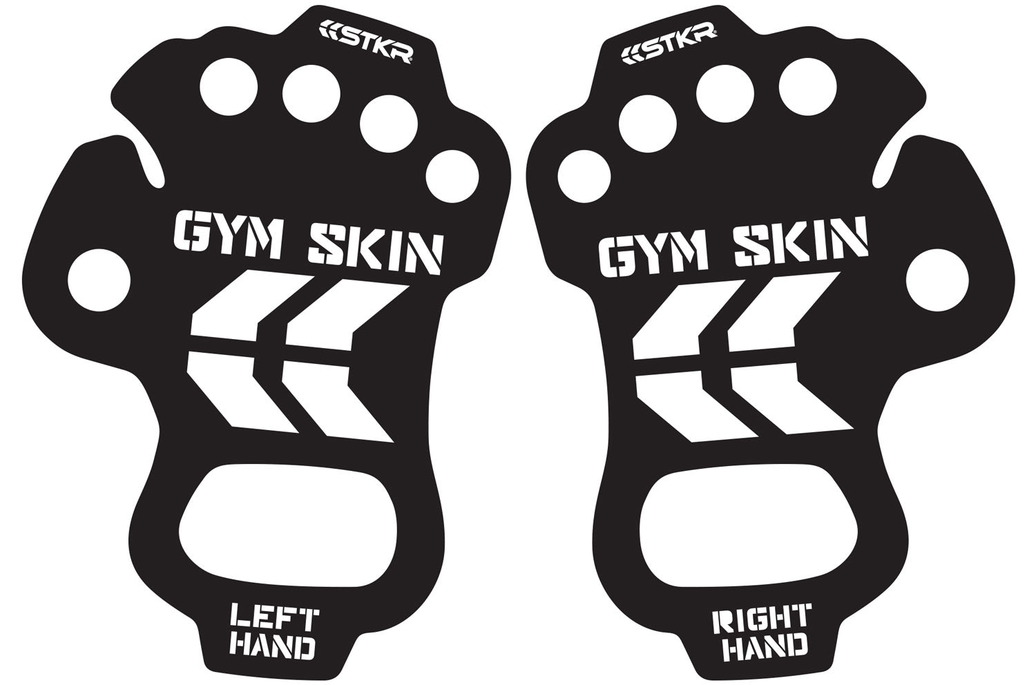 STKR Concepts Gym Skin pair included in packaging - striker