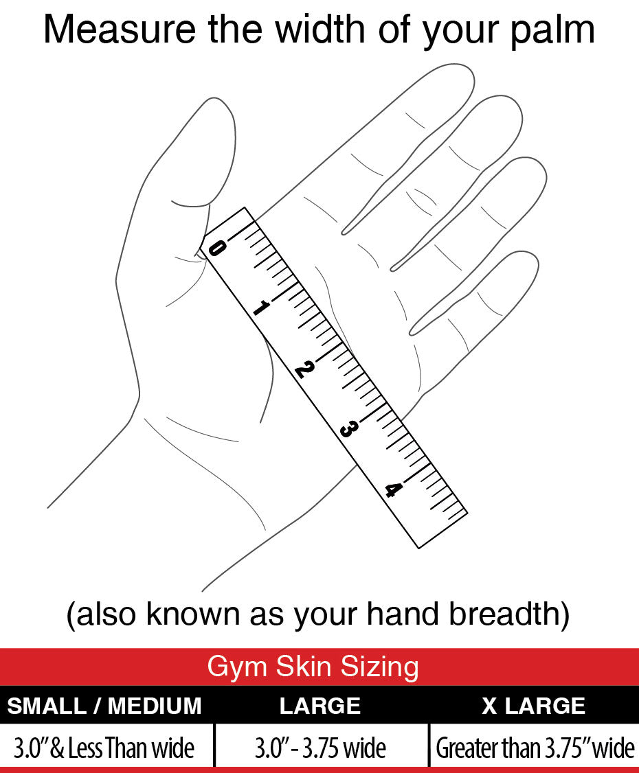 Gym Skin size guide