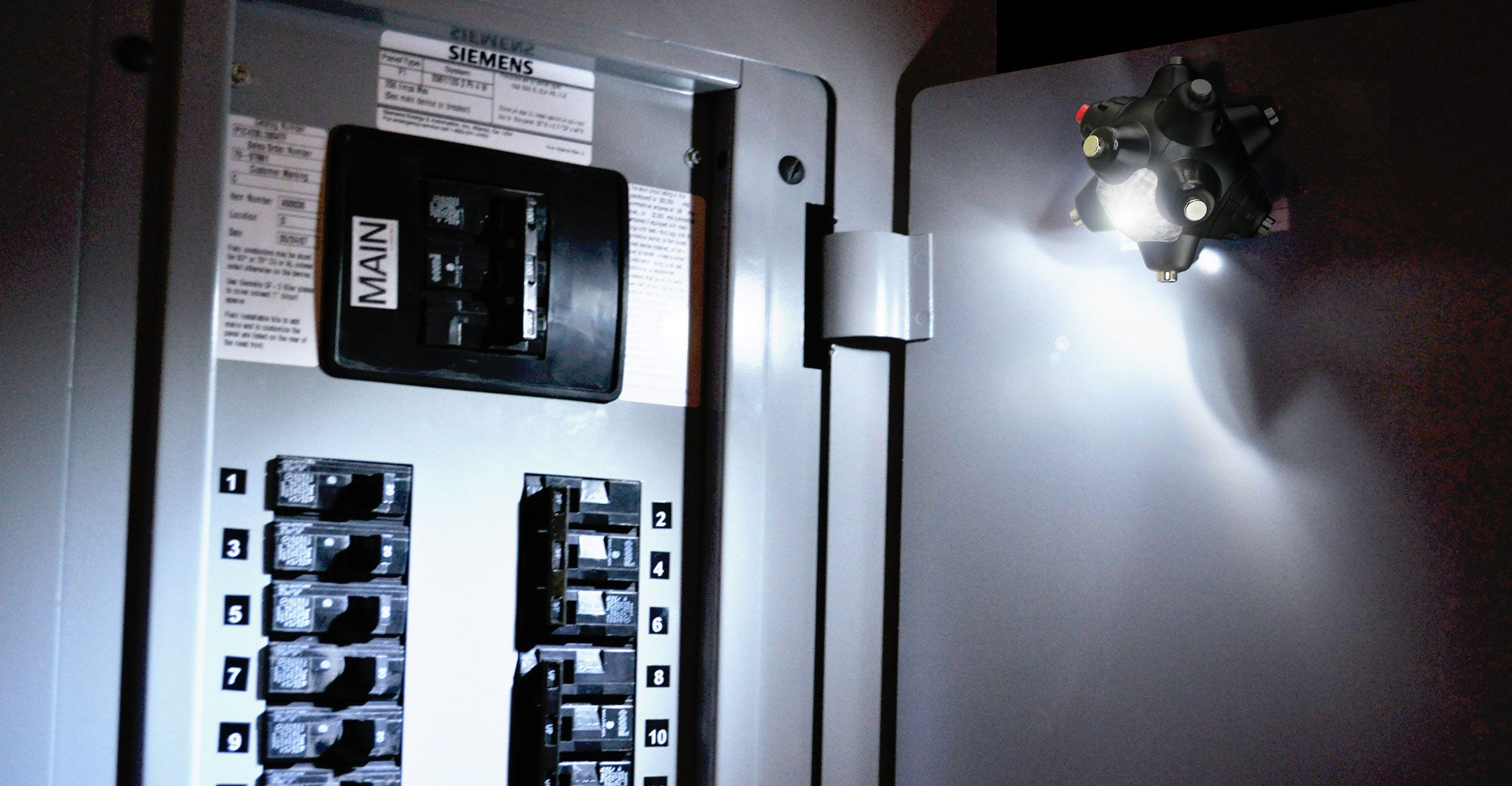 Light Mine Professional Flashlight By Striker Concepts Siemens Fuse Box Used For Lighting