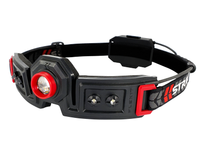 STKR Concepts | FLEXit Headlamp - 180 degree halo head light | Striker