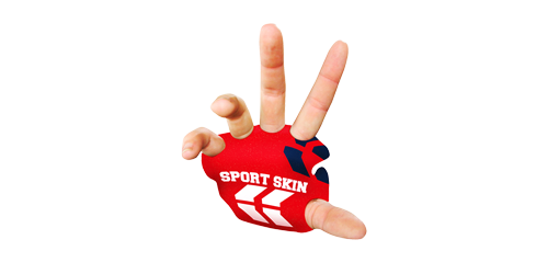 Sport Skin - protect your palms, increase your grip and reduce calluses and vibration by STKR Concepts